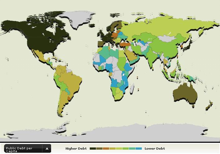 public debt per capita